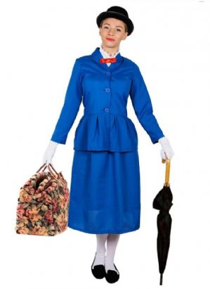 Victorian Nanny Mary Poppins Costume (ILFD4043)